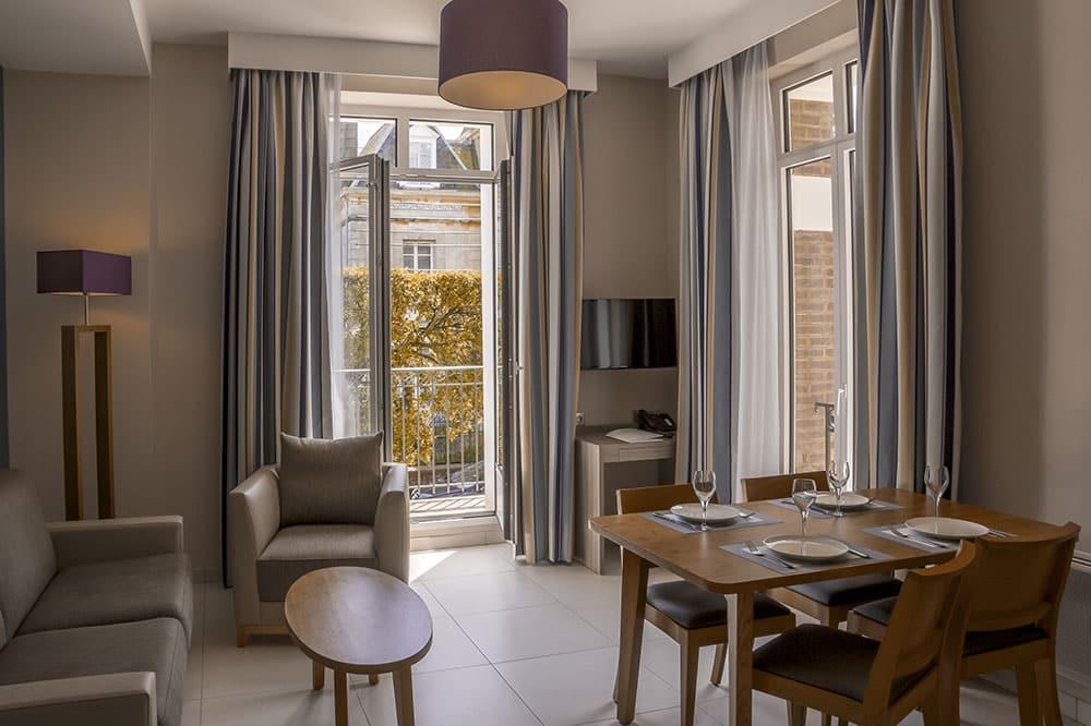 Appartements de vacances à Saint-Malo - Villa des Thermes
